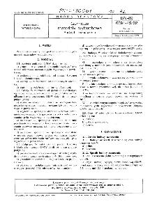 Górnicze materiały wybuchowe - Podział i oznaczenie BN-89/6091-45/02