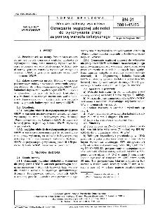 Górnicze materiały wybuchowe - Oznaczanie względnej zdolności do wykonywania pracy za pomocą wahadła balistycznego BN-91/6091-45/23