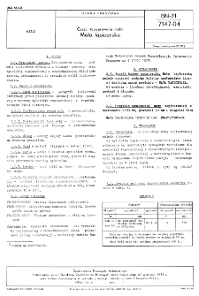 Części tapicerowane mebli - Mata tapicerska BN-71/7147-04