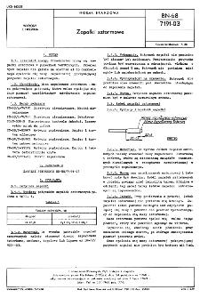 Zapałki sztormowe BN-68/7191-03
