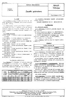 Zapałki gabinetowe BN-69/7191-04