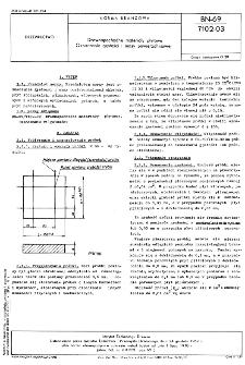 Drewnopochodne materiały płytowe - Oznaczanie gęstości i masy powierzchniowej BN-69/7102-03