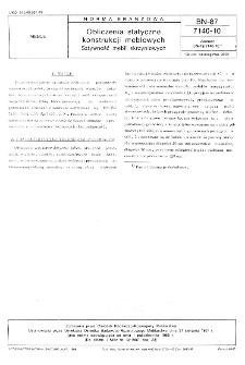 Obliczenia statyczne konstrukcji meblowych - Sztywność mebli skrzyniowych BN-87/7140-10