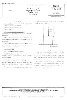 Badania i wymagania wytrzymałościowe mebli - Fotele i sofy - Wytrzymałość BN-83/7140-12.12