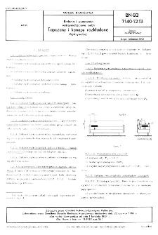 Badania i wymagania wytrzymałościowe mebli - Tapczany i kanapy rozkładane - Wytrzymałość BN-83/7140-12.13