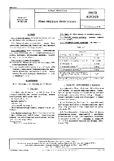 Masa inicjująca niekorodująca BN-70/6092-05