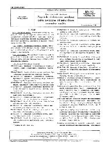 Górnicze środki strzałowe - Zapalniki elektryczne węglowe ostre zwłoczne milisekundowe normalne zwykłe BN-70/6094-26