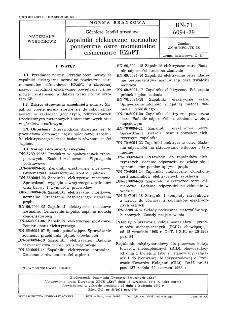 Górnicze środki strzałowe - Zapalniki elektryczne normalne powietrzne ostre momentalne ciśnieniowe KZnPT BN-71/6094-29