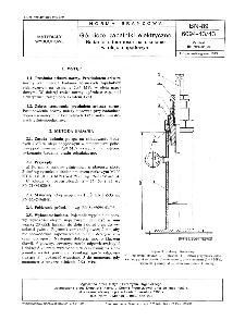 Górnicze zapalniki elektryczne - Badanie odporności na ciśnienie w oleju napędowym BN-89/6094-43/43
