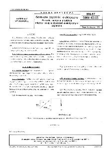 Górnicze zapalniki elektryczne - Badanie napięcia przebicia między łuską a obwodem elektrycznym zapalnika BN-87/6094-43/55