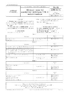 Górnicze zapalniki elektryczne metanowe 0,20 A natychmiastowe BN-88/6094-43/70