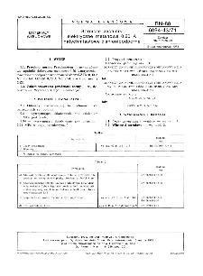 Górnicze zapalniki elektryczne metanowe 0,20 A natychmiastowe ciśnienioodporne BN-88/6094-43/71