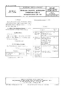 Górnicze zapalniki elektryczne metanowe 0,20 A milisekundowe 25 ms BN-87/6094-43/72
