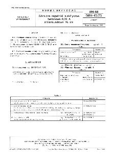 Górnicze zapalniki elektryczne metanowe 0,20 A milisekundowe 26 ms BN-88/6094-43/73
