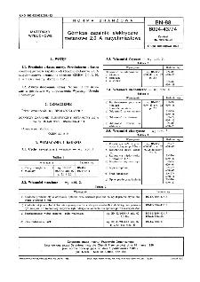 Górnicze zapalniki elektryczne metanowe 0,20 A natychmiastowe BN-88/6094-43/74
