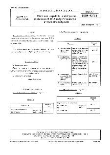 Górnicze zapalniki elektryczne metanowe 0,20 A natychmiastowe antyelektrostatyczne BN-87/6094-43/75