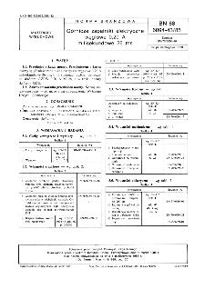 Górnicze zapalniki elektryczne węglowe 0,20 A milisekundowe 26 ms BN-88/6094-43/85