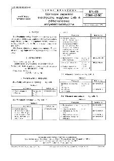Górnicze zapalniki elektryczne węglowe 0,45 A półsekundowe antyelektrostatyczne BN-86/6094-43/90