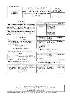 Górnicze zapalniki elektryczne węglowe 0,20 A półsekundowe (1 ÷ 15) BN-90/6094-43/91