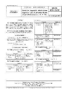 Górnicze zapalniki elektryczne węglowe 0,20 A półsekundowe antyelektrostatyczne (1 ÷ 15) BN-90/6094-43/92