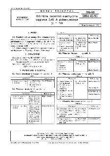 Górnicze zapalniki elektryczne węglowe 0,45 A półsekundowe (1 ÷ 10) BN-90/6094-43/93