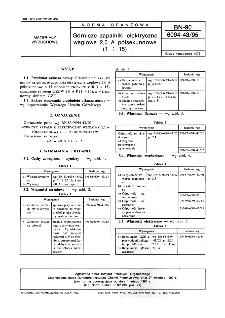 Górnicze zapalniki elektryczne węglowe 2,0 A półsekundowe (1 ÷ 15) BN-90/6094-43/95