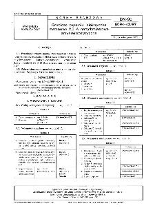 Górnicze zapalniki elektryczne metanowe 2,0 A natychmiastowe antyelektrostatyczne BN-90/6094-43/97