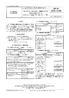 Górnicze zapalniki elektryczne metanowe 2,0 A milisekundowe 25 ms ( 1 ÷ 15) BN-90/6094-43/98