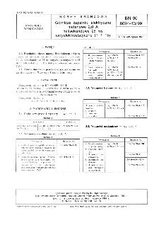Górnicze zapalniki elektryczne metanowe 2,0 A milisekundowe 25 ms antyelektrostatyczne ( 1 ÷ 15) BN-90/6094-43/99