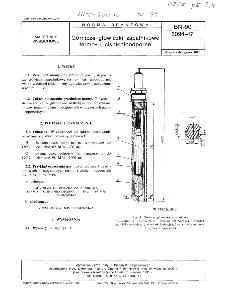 Górnicze głowiczki zapalnikowe termo- i ciśnienioodporne BN-90/6094-47
