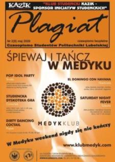Plagiat : czasopismo Studentów Politechniki Lubelskiej nr 2(8) maj 2009
