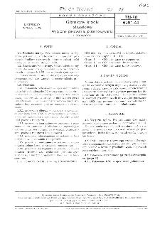 Górnicze środki strzałowe - Wytyczne pakowania, przechowywania i transportu BN-80/6091-44