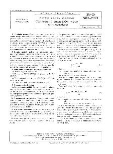 Górnicze materiały wybuchowe - Oznaczanie zawartości wody i nitrozwiązków BN-90/6091-45/19
