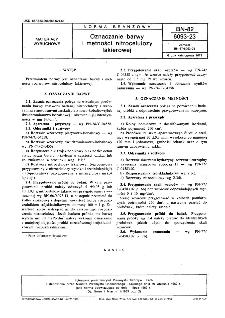 Oznaczanie barwy i mętności nitrocelulozy lakierowej BN-82/6093-23