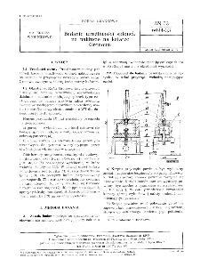 Badanie wrażliwości spłonek na nakłucie na kafarze Gronowa BN-73/6094-33