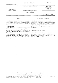 Badanie odporności na trzęsaku BN-73/6094-36