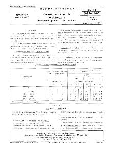 Górnicze zapalniki elektryczne - Pobieranie próbek i plan badania BN-84/6094-43/06