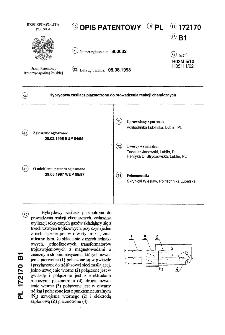 Hybrydowy zasilacz plazmotronu do prowadzenia reakcji chemicznych : opis patentowy nr 172170