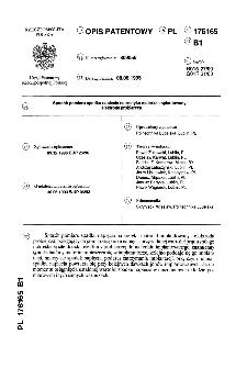 Sposób pomiaru spadku napięcia na zestyku materiał implantowany - elektroda probiercza : opis patentowy nr 176165