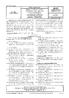 Papiery fotograficzne zdjęciowe powszechnego użytku czarno-białe - Charakterystyka jakościowo-użytkowa papieru Fotonchlor BN-82/6125-01.04