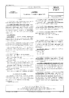 UNIFEN - Wywoływacz uniwersalny w płynie W-19 BN-69/6126-11