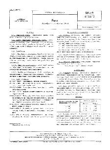 Fenal - Wywoływacz pozytywowy W-14 BN-69/6126-12