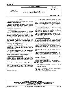 Zestaw wywołujący Fotoncolor BN-71/6126-13