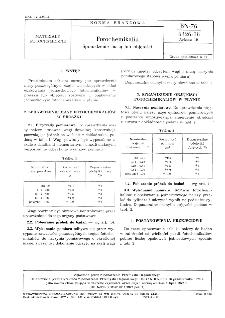 Fotochemikalia - Sprawdzenie masy lub objętości BN-76/6126-18 Arkusz 19