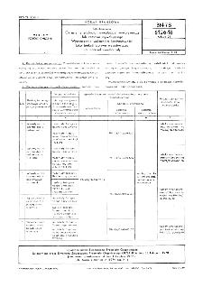 Fotochemikalia - Określenie zdolności wywołującej wywoływacza lub zestawu wywołującego - Wyznaczanie wskaźnika kontrastowości jako funkcji wpływu wywoływacza na materiał światłoczuły BN-78/6126-18 Arkusz 26
