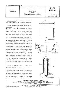 Emalie szkliste - Badania - Przygotowanie próbek BN-76/4027-02
