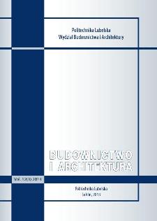Budownictwo i Architektura Vol. 12(3)2013