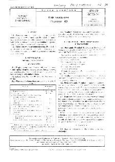 Kleje kauczukowe - Pronikol 40 BN-79/6033-04