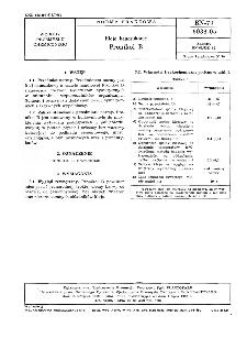 Kleje kauczukowe - Pronikol B BN-79/6033-05