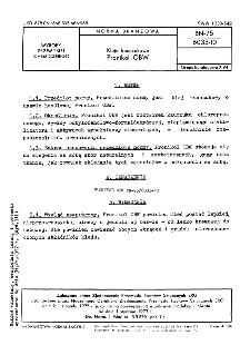 Kleje kauczukowe - Pronikol OBW BN-75/6033-10